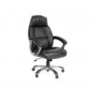 Офисное кресло CH436 кожа,черный