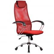 Кресло ВК-8 Ch №22 сетка красный