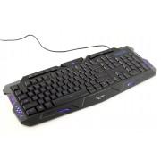 Клавиатура игровая Gembird KB-G11L, 3 различные подсветки, 10 доп. клавиш