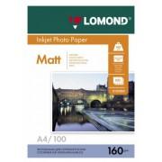 Бумага Lomond A4 160г/м2 100л.,матовая (0102005)