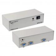 Размножитель и усилитель VGA на 2 монитора 200МГц <GEMBIRD GVS122>