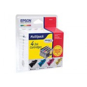 Струйный картридж Epson C13T06354A black+cyan+magenta+yellow for Stylus C67/C87, CX3700/CX4100