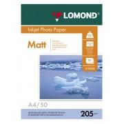 БУМАГА LOMOND A4 205Г/М2 50Л. МАТОВАЯ (0102085)