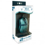 """Мини-мышь G-Cube GOE-6DW """"Wind"""" голубая, кн.2х клик, USB"""
