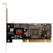 КОНТРОЛЛЕР SATA 4PORTS RAID/PCI + CAB 2ШТ
