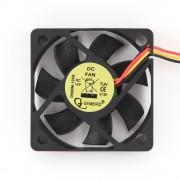 Вентилятор Gembird D50BM-12AS, 50x50x10, подшипник, 3 pin, провод 25 см