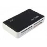 УСТРОЙСТВО ЧТЕНИЯ КАРТ ПАМЯТИ PC PET CR-211RBK USB 2.0 SDHC/CF/XD/MS/TF/M2 (24-IN-1) RUBBER BLACK