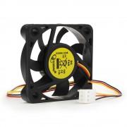 Вентилятор Gembird, 50x50x10, втулка, 3 pin, провод 25 см