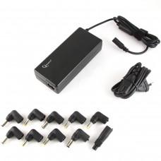 Адаптер-автомат питания Gembird NPA-AC1D 220В Универсальный для ноутбуков 90Вт с автоматическим определением подаваемого на ноутбук напряжения.