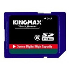 ФЛЕШ КАРТА SDHC 32GB CLASS6 KINGMAX