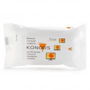 Чистящие салфетки для ЖК-экранов,15 шт., KONOOS <KSN-15>