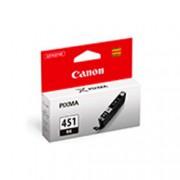 КАРТРИДЖ СТРУЙНЫЙ CANON CLI-451BK 6523B001 ЧЕРНЫЙ ДЛЯ PIXMA IP7240/MG6340/MG5440