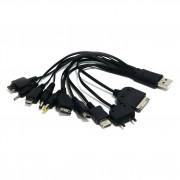 USB адаптер Gembird A-USBTO10B для зарядки мобильных телефонов, включая iPhone и iPad, в блистере.