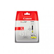 Картридж струйный Canon CLI-451XLY 6475B001 желтый для PIXMA iP7240/MG6340/MG5440