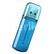 ФЛЕШ ДИСК SILICON POWER 8GB HELIOS 101 SP008GBUF2101V1B USB2.0 СИНИЙ