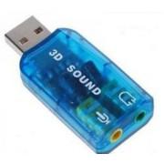 ЗВУКОВАЯ КАРТА USB TRUA3D (C-MEDIA CM108) 2.0 CHANNEL OUT 44-48KHZ (5.1 VIRTUAL CHANNEL) RTL