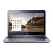 "НОУТБУК ACER C-SERIES C720-29552G01AII CEL 2955U/2GB/16GB SSD/INT/11.6""/HD/МАТ/CHR/GREY/CAM"