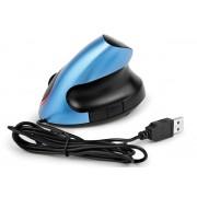 Мышь CBR CM-399 уникальный дизайн Blue Black,эргон, оптика, 1000dpi,USB,4 кнопки, CM399