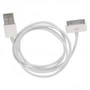Кабель USB Gembird/Cablexpert CC-USB-AP1MW AM/Apple, для iPhone/iPod/iPad, 1м, белый, блистер