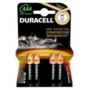 БАТАРЕЙКА DURACELL BASIC LR03-4BL AAA
