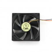 Вентилятор Gembird FANCASE2/BALL, 90x90x25, подшипник, 3 pin, провод 30 см