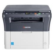 Лазерный копир-принтер-сканер Kyocera FS-1020MFP (А4, 20 ppm, 1200dpi, 25-400%, 64Mb, USB, цв. сканер, крышка, пуск. комплект)