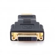 Переходник HDMI-DVI Cablexpert A-HDMI-DVI-3, 19M/25F, золотые разъемы, пакет