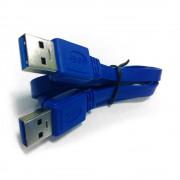 Кабель USB 3.0 Pro Gembird/Cablexpert CCP-USB3-AMAM-6, AM/AM, 1.8м, экран, синий, пакет