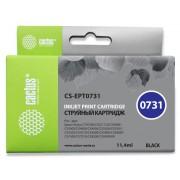 КАРТРИДЖ СТРУЙНЫЙ CACTUS CS-EPT0731 ЧЕРНЫЙ ДЛЯ EPSON STYLUS С79/C110/СХ3900/CX4900/CX5900/CX7300/CX8