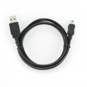 Кабель USB 2.0 Cablexpert CC-5PUSB2D-1M, мультиразъем USB, AM/miniB 5P, 1м, пакет