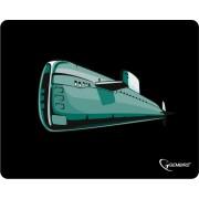 """Коврик для мыши Gembird MP-GAME7, рисунок- """"подводная лодка"""", размеры 250*200*3мм"""