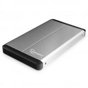 """Внешний корпус 2.5"""" Gembird EE2-U3S-2-S, серебро, USB 3.0, SATA, металл"""