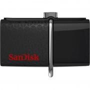 ФЛЕШ ДИСК SANDISK 16GB ULTRA DUAL SDDD2-016G-GAM46 USB3.0 ЧЕРНЫЙ