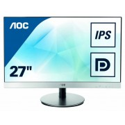 "Монитор AOC 27"" Style i2769V(/01) серебристый IPS LED 5ms 16:9 DVI матовая 250cd 1920x1080 D-Sub FHD 4.99кг"