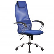 Кресло ВК-8 Ch №23 сетка синий