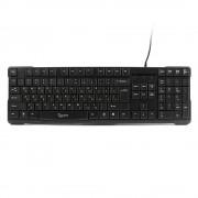 Клавиатура Gembird KB-8352U-BL, USB, черный, доп, клавиша backspace, 105 клавиш