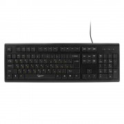 Клавиатура Gembird KB-8353U-BL, USB, черный, 104 клавиши