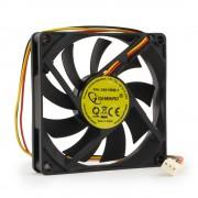 Вентилятор Gembird D8015ВM-3, 80x80x15, подшипник, 3 pin, провод 30 см