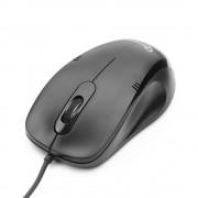 Мышь Gembird MOP-100, USB, черный, 2кн., 1000DPI