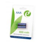 Аккумуляторы Energenie EG-BA-AAA10-01 AAА-размера. 2 шт. в блистере. Емкость 1000 mAh, блистер