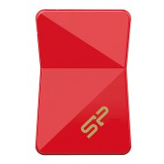 ФЛЕШ ДИСК SILICON POWER 16GB JEWEL J08 SP016GBUF3J08V1R USB3.0 КРАСНЫЙ