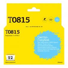 Картридж T2 C13T08154A светло-голубой [ic-et0815]