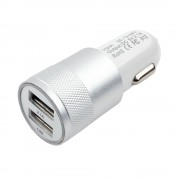 Адаптер питания Cablexpert MP3A-UC-CAR15, 12V->5V 2-USB, 2.1A