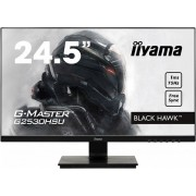 "Монитор Iiyama 24.5"" G-Master G2530HSU-B1 черный TN LED 1ms 16:9 HDMI M/M матовая 250cd 170гр/160гр 1920x1080 D-Sub DisplayPort FHD USB 4кг"