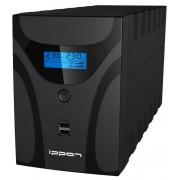 Источник бесперебойного питания Ippon Smart Power Pro II Euro 1200 720Вт 1200ВА черный