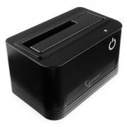 "Докстанция 2.5""/3.5"" Gembird HD32-U3S-4, черный, USB 3.0, SATA, HDD/SSD"