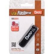 ФЛЕШ ДИСК DATO 8GB DS2001 DS2001-08G USB2.0 ЧЕРНЫЙ