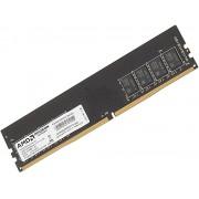 Память DDR4 4Gb 2400MHz AMD R744G2400U1S-UO OEM PC4-19200 CL17 DIMM 288-pin 1.2В